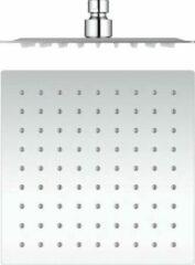 Badplaats - Douchekop chroom - vierkant - 250 x 250mm