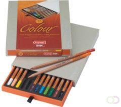 Bruna Kleurpotloden Bruynzeel Colour box 12stuks assorti