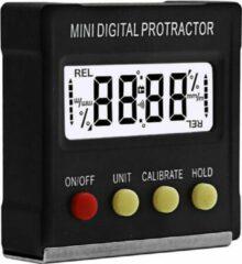 WiseGoods - Premium 360 Gradenboog Meter - Graden Meten - Digitaal - Inclinometer - Magnetiosche Meetinstrumenten