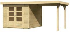 Karibu Woodfeeling | Tuinhuis Askola 3 | 242 x 217 x 211 cm | Onbehandeld