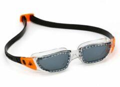 Aqua Sphere Kameleon - Zwembril - Dark Lens - Transparant/Oranje