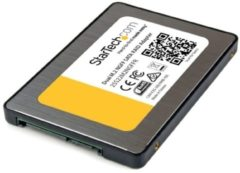 StarTech Adattatore SATA dual M.2 NGFF con RAID - 2x M.2 SSD a 2,5 SATA (6Gbps)