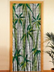 Bambusvorhang Bamboo Wenko grün