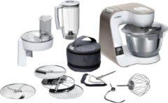 Witte Bosch MUM5XW20 CreationLine Premium - Keukenmachine - Incl weegschaal en timer