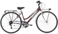 28 Zoll Damen Trekking Fahrrad Cinzia Country 6 Gang Cinzia rot