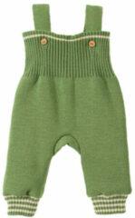 Minibär DESIGN Gebreide tuinbroek, groen/grijs 74/80