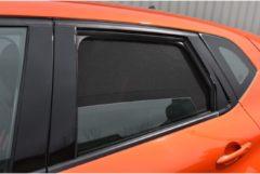 Zwarte Car Shades Carshades Renault Captur 5-deurs 2013- autozonwering