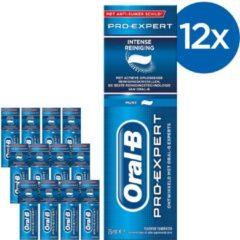Oral-B Oral B Pro-Expert Intense Reiniging - Voordeelverpakking 12 x 75ml - Tandpasta