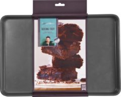 Blauwe Jamie Oliver bakvorm/plaat - 39x26,5x2,5cm