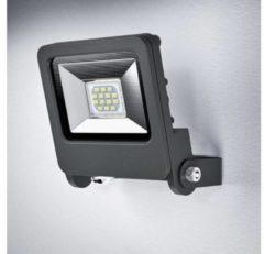 Ledvance Schijnwerper LED: voor muur, ENDURA® FLOOD Warm White / 10 W, 220…240 V, uitstralingshoek: 120°, Warm White, 3000 K, materiaal behuizing: aluminium, IP65, 1-bundel