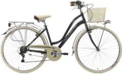 Cicli Cinzia 28 ZOLL CITY FAHRRAD 6 GANG CINZIA VIAGGIO Damen schwarz