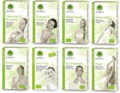 Neuner's - BIO - 8x Wellness thee - pakket biologische kruidenthee - 8 doosjes x 20 zakjes - Puur Natuur - 100% plastic vrije verpakking