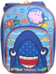 Nickelodeon rugzak Erwin Peppa Pig junior blauw 32 cm