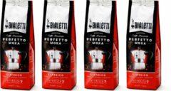 Bialetti Moka Classico gemalen koffie - 4 x 250 gram