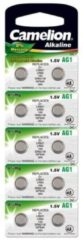 Grijze Camelion AG1-BP10 Alkaline 1.5V niet-oplaadbare batterij
