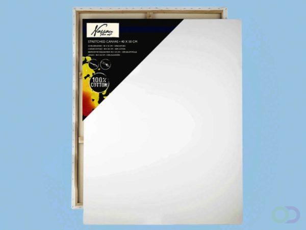 Afbeelding van Witte Nassau Fine Art 12 stuks | Art Sensations Nassau Fine Schildersdoeken /Art canvas, 40cm x 50cm x 17mm