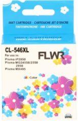 Zwarte FLWR CL-546XL kleur (8288B001) geschikt voor Canon