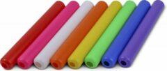 Paarse Vinex Estafette stokken Set 8 stuks | Gekleurd 30 cm | Relay | Atletiek