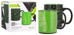 Groene Paladone hitteveranderende Xbox-beker : Heat Change Mug 300 ml