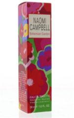 Naomi Campbell Perfumes Bohemian Garden Toilette - Eau De Toilette 30ml - Spray - Naomi Campbell