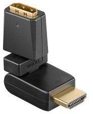 Afbeelding van HDMI met draaibare aansluiting - Goobay