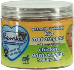 Renske Gezonde Beloning Hartjes 100 g - Hondensnacks - Kip&Oregano - Hondenvoer