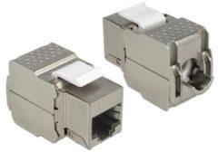 DeLOCK Netzwerk-Zubehör Keystone Modul RJ45 Buchse > LSA Cat.6