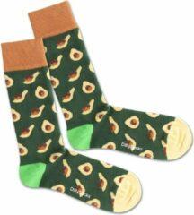 Groene DillySocks Avocado Grass Sock 36-40
