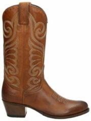 Sendra 11627 Deborah dames cowboylaarzen - Cognac - Maat 40