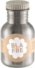 Blafre - RVS Drinkbeker Stalen Drinkfles 300 ml Grijs