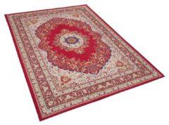 Beliani KARAMAN Vloerkleed Meerkleurig Polyester 140 x 200 cm