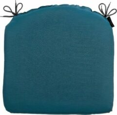 Madison Zitkussen Panama 46 X 48 Cm Katoen/polyester Turquoise