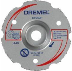 DREMEL DSM20 Mehrzweck-Karbidtrennscheibe zum Bün digschneiden