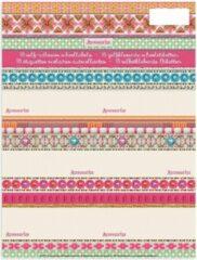 Roze Stationery Team Etiketten Accessorize Fashion 18 Stuks