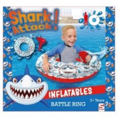 Sambro Shark Attack Battle Ring Zwemband met Waterpistool 85 cm