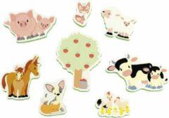 Studio Circus badfiguren boerderij vriendjes - educatief badspeelgoed