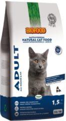 4x Biofood Kattenvoer Adult Tarwevrij 1,5 kg