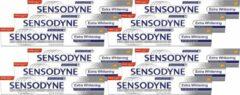 Sensodyne Extra Whitening Tandpasta - Voordeelverpakking 12 x 75 ml