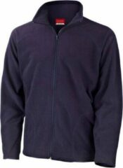 Blauwe Result Navy fleece vest Viggo voor heren XL