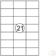 Etiket Quantore 70X42.4mm 315stuks