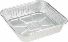 "Zilveren Royal ware by Farla Aluminium vierkante voedsel containers, 8"" - verpakking van 5 containers"