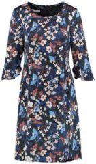 Blumiges Kleid Gerry Weber Indigo-Zimt-Blau