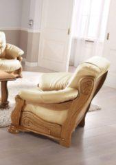 Max Winzer® Lesesessel »Texas«, mit dekorativem Holzgestell