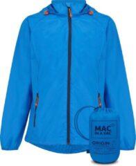 Blauwe Mac in a Sac Origin 2 Regenjas Unisex - Ocean Blue - Maat S