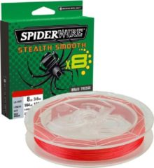 Rode Spiderwire | stealth smooth 8 | Red |150 meter | 0.11 mm | 10.3 kg