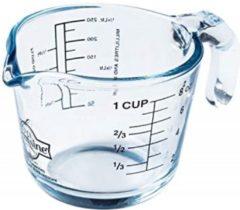 Transparante Arcuisine maatbeker glas 0.5L