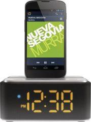Zwarte Philips AS130 - Dockingstation met Bluetooth (Alleen voor Android!)