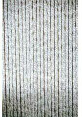 Wicotex Cortenda kattenstaart vliegengordijn grijs/wit gemeleerd 90 x 220 cm