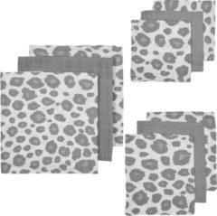 Meyco hydrofiele starterset Panter - set van 3x3 wit/grijs/beige