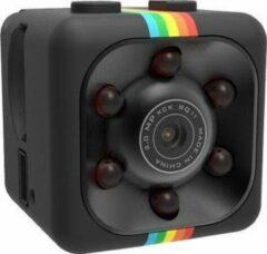 Zwarte NARVIE SPY Camera - Beveiligingscamera - Mini SPY Camera -Nederlandse handleiding- Verborgen Camera - Smart Camera - 720P - WiFi Camera - Met Mobiele App - Incl. 32GB Geheugenkaar